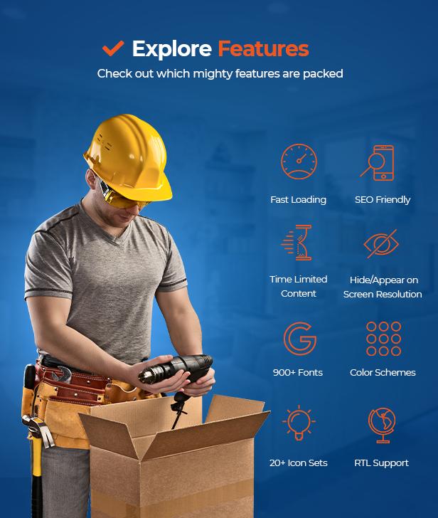 RenoWise - Tema de construcción y construcción - 9